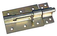 Задвижка для двери 100 мм круглая оцинкованная MasterTool 92-0244