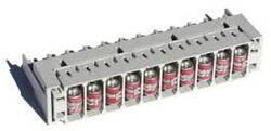Магазин захисту 10-ти парний з розрядниками і кришкою