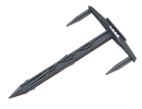 Штифт для кріплення агротканини, агроволокна 17/10см