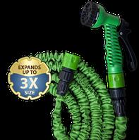 Расширяющийся шланг TRICK HOSE зеленый - коробка 7,5-22М
