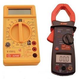 Мультиметры, тестеры, измерительные клещи