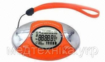Многофункциональный шагомер и анализатор жира TurboCheck MASAI (оранжевый, серебро)