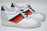 Кроссовки - сникерсы белые 39,40 рзм. 40 Белый