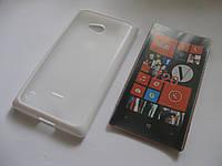 Чехол силиконовый TPU Case Nokia Lumia 720 White