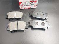 Колодки гальмівні задні дискові 04466-AZ107. TOYOTA