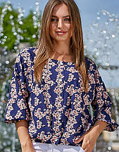 Женская блузка с широким рукавом (3551-3550 svt), фото 2