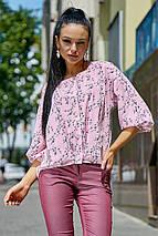 Женская блузка с широким рукавом (3551-3550 svt), фото 3