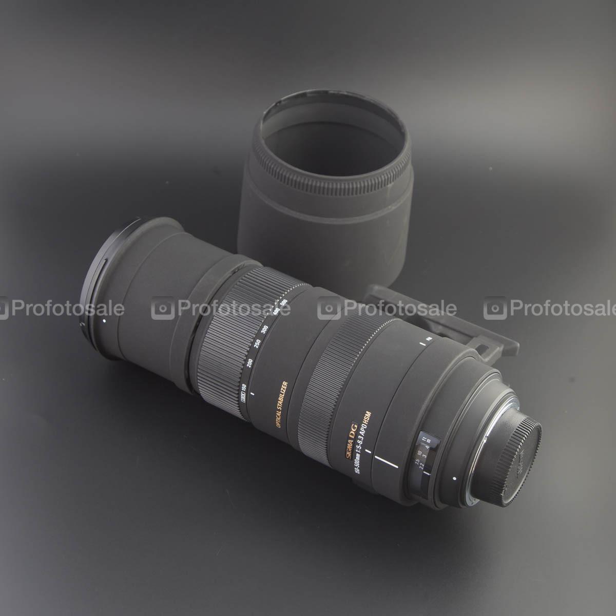 Sigma AF 150-500mm f/5-6,3 APO DG OS HSM