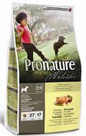 Корм для щенков Pronature Holistic (Пронатюр Холистик) Chicken & Sweet Potato - Курица / Батат13.6кг