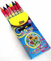 Карандаши Восковые 6 цветов Ol-1006 Olli