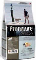Корм для собак Pronature Holistic (Пронатюр Холистик) Atlantic Salmon & Brown Rice 13.6кг