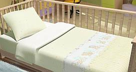 Детское постельное белье для младенцев Kidsdreams - Baby Bear бежевое
