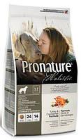 Корм для собак Pronature Holistic (Пронатюр Холистик) Turkey & Cranberries - Индейка / Клюква 13.6кг