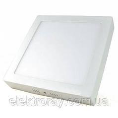 Светодиодный светильник Wall Light Plastic 6W квадратный накладной точечный 2 в 1