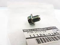 Пробка сливная  11128-01M01. NISSAN