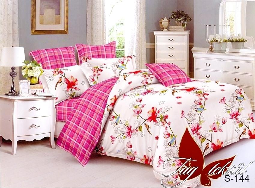 ТМ TAG Комплект постельного белья с компаньоном S-144