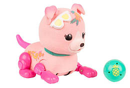 Интерактивный щенок с мячиком (Ананасик) - Little Live Pets. Lil' Cutie Pups Season 2 Single Pack, Shine Apple