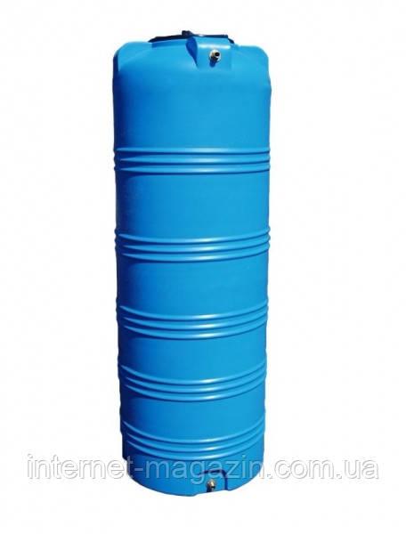 Вертикальная емкость для воды пластиковая V-750
