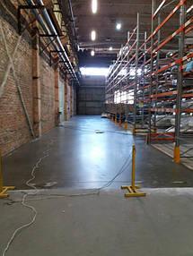 Упрочненный и обеспыленный бетонный пол
