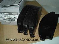 Колодки гальмівні передні дискові D1060-0W7X5. NISSAN