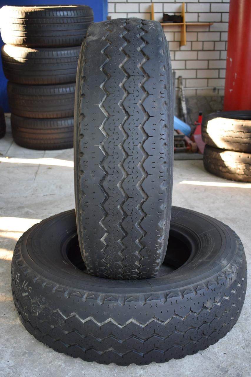 Шины б/у 225/75 R16С Michelin X, ЛЕТО, пара, 5-6 мм