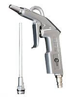 Пистолет PT-0804 Intertool продувочный с дополнительным соплом 120 мм