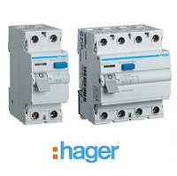 Устройства защитного отключения (УЗО) Hager