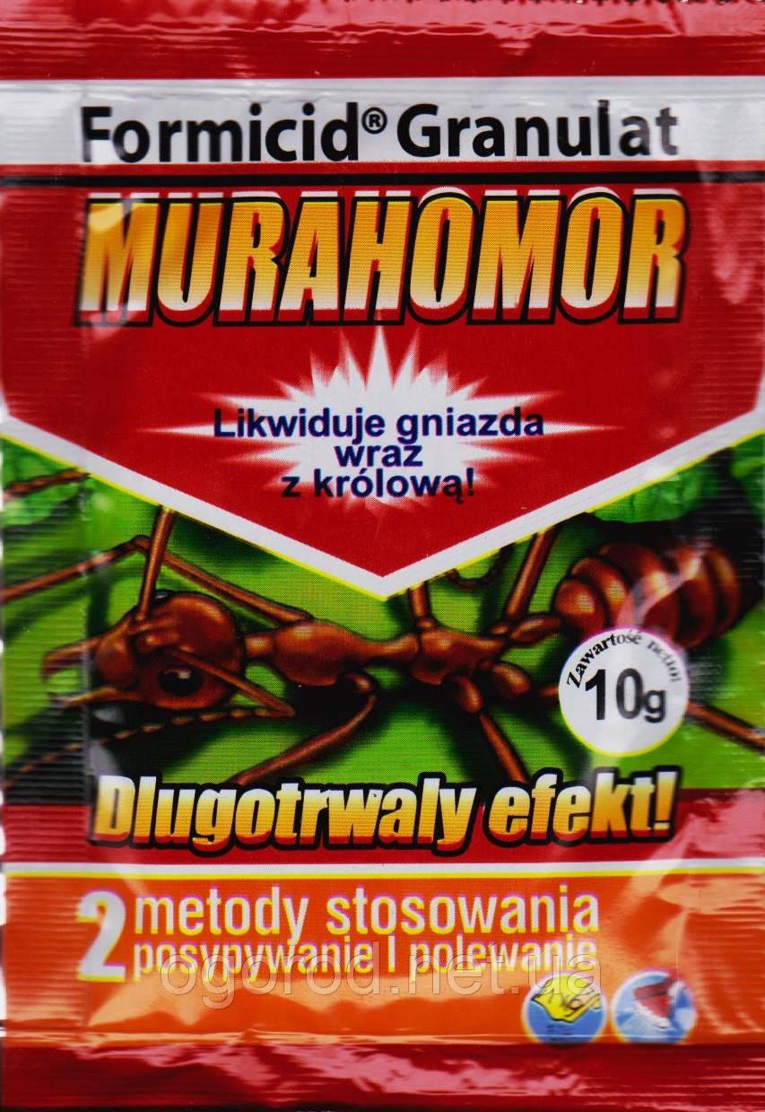 Мурахомор от муравьёв, Польша
