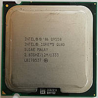 Процессор Intel Core 2 Quad Q9550 E0 SLGAE 2.83GHz 12M Cache 1333 MHz FSB Socket 775 Б/У, фото 1