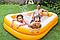 Пляжный детский бассейн.Бассейн детский прямоугольный.Бассейн Интекс семейный., фото 3
