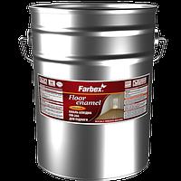 """Эмаль алкидная для пола ПФ-266  TM """"Farbex"""" желто - коричневая - 50,0 кг."""