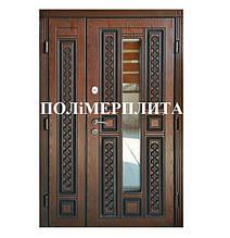 Двери полимерплита ( пластиковая накладка )