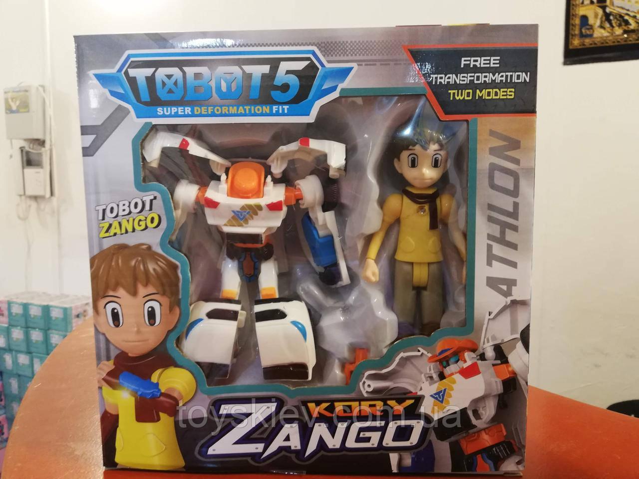 Трансформер робот Тобот мини, Tobot Занго Zango и Kory 2 серия
