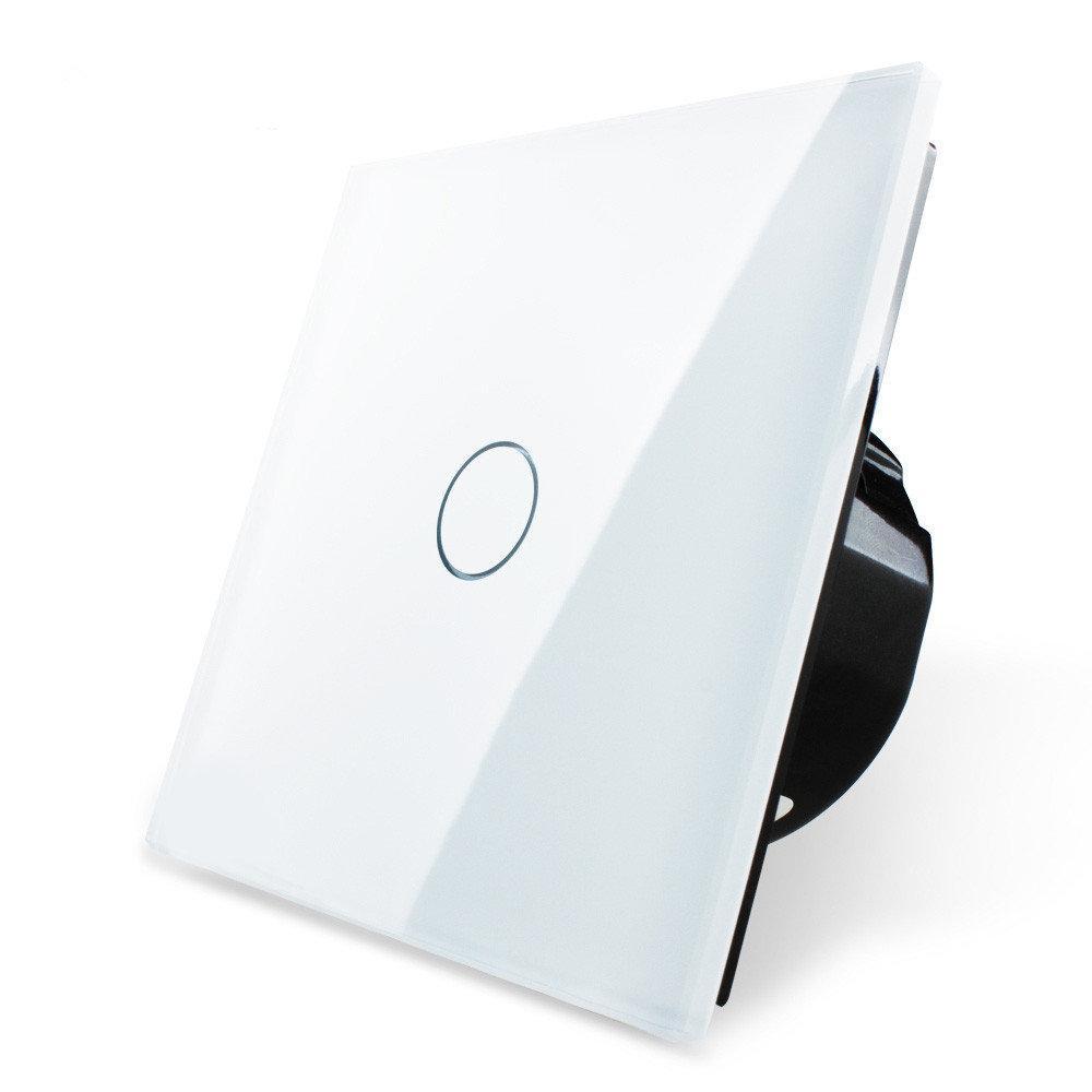 Сенсорный выключатель Livolo 1-канальный, Classic Белый