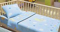 Детское постельное белье для младенцев Kidsdreams - Ведмедики на місяці