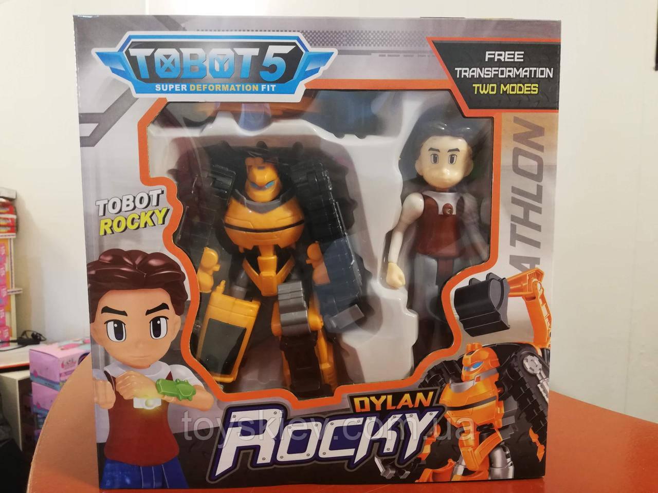 Трансформер робот Тобот мини, Tobot Роки Rocky и Dylan 2 серия