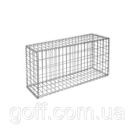 декоративный забор - забор из габионов