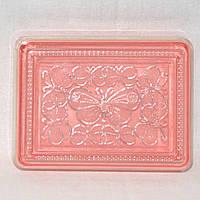 Нежная шкатулка с бабочками для украшений или швейных аксессуаров, размер 18х14х4 см