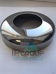 Декоративная крышка Ø80 мм под трубу 38,1 мм