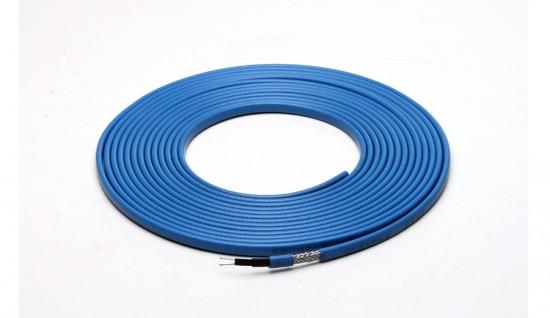 Саморегулирующийся нагревательный кабель 31 В/м голубой
