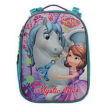 Рюкзак школьный 556195 H-25 каркасный Sofia, фото 2