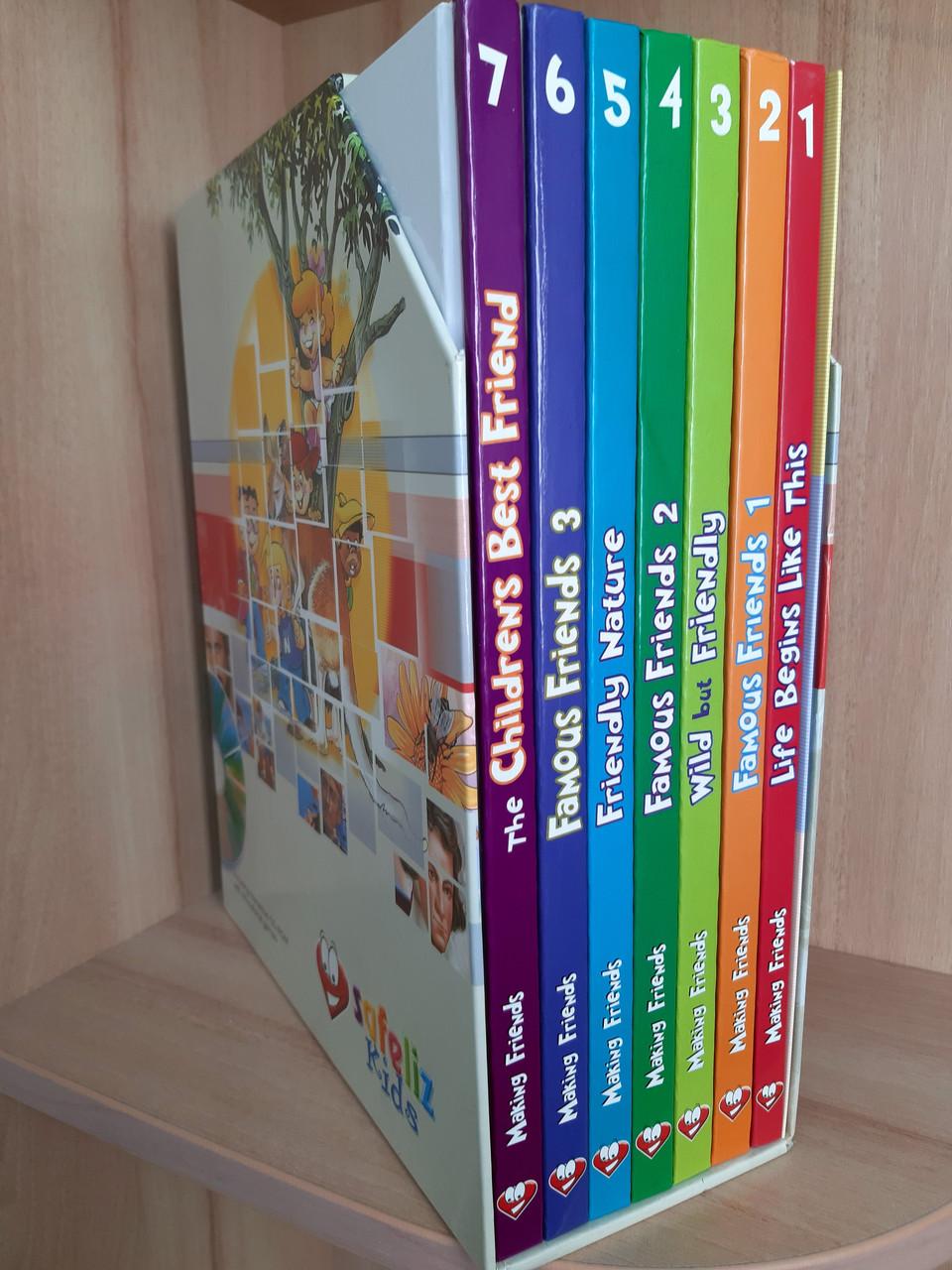 Серія дитячих книг Making Friends (англ.) + СD