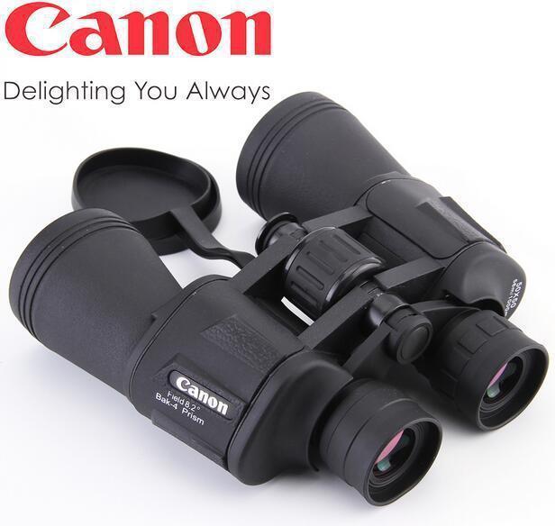 Мощный Японский Бинокль Canon 20x70