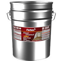 """Эмаль алкидная для пола ПФ-266  TM """"Farbex"""" красно - коричневая - 25,0 кг."""