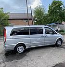 Рейлинги на крышу Mercedes Vito W639 2003-2014 полированный алюминий, короткая и средняя база, фото 6