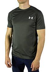 Серая мужская футболка UNDER ARMOUR на лето