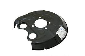 Щиток (кожух, шильдик, защита) заднего тормозного диска левый GM 13168748 OPEL Vectra-C Signum & SAAB