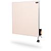 Керамічна енергозберігаюча електропанель DIMOL Standart Plus 03 з прогаматором (кремова)
