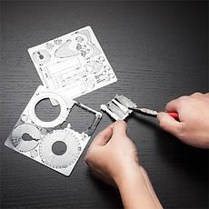 Металлический конструктор Биг Бен 1 пластина, фото 2