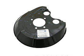 Щиток (кожух, шильдик, защита) заднего тормозного диска правый GM 13168749 OPEL Vectra-C Signum & SAAB
